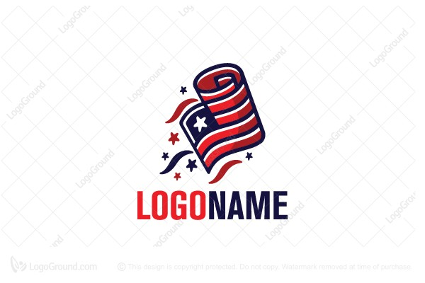 Logo for sale: Patriot News  Logo